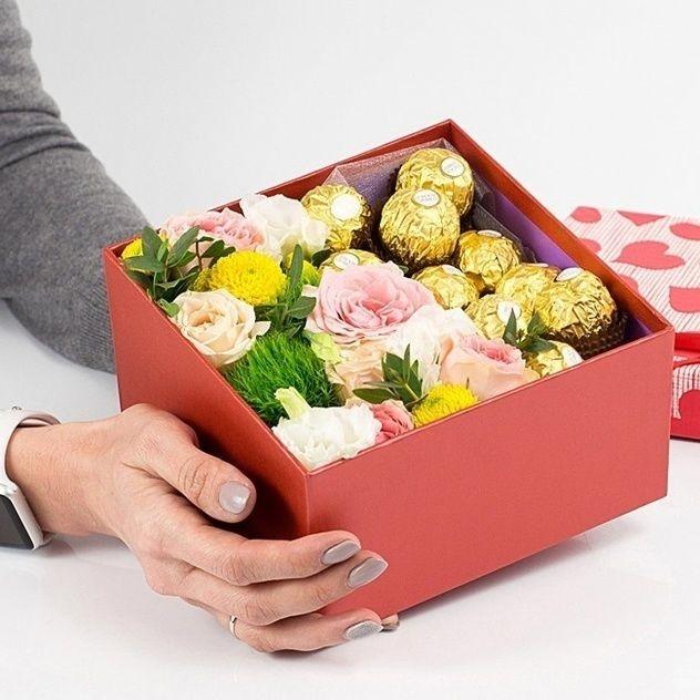 Сладкая коробочка с ферерро